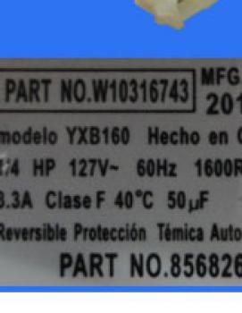 MOTOR LAVADORA 1/4 HP
