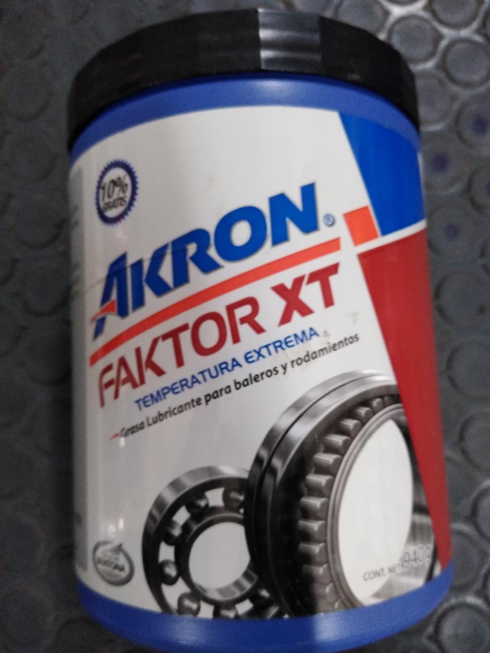 785639669742 GRASA AKRON FAKTOR XT TEMPERATURA EXTREMA 940G