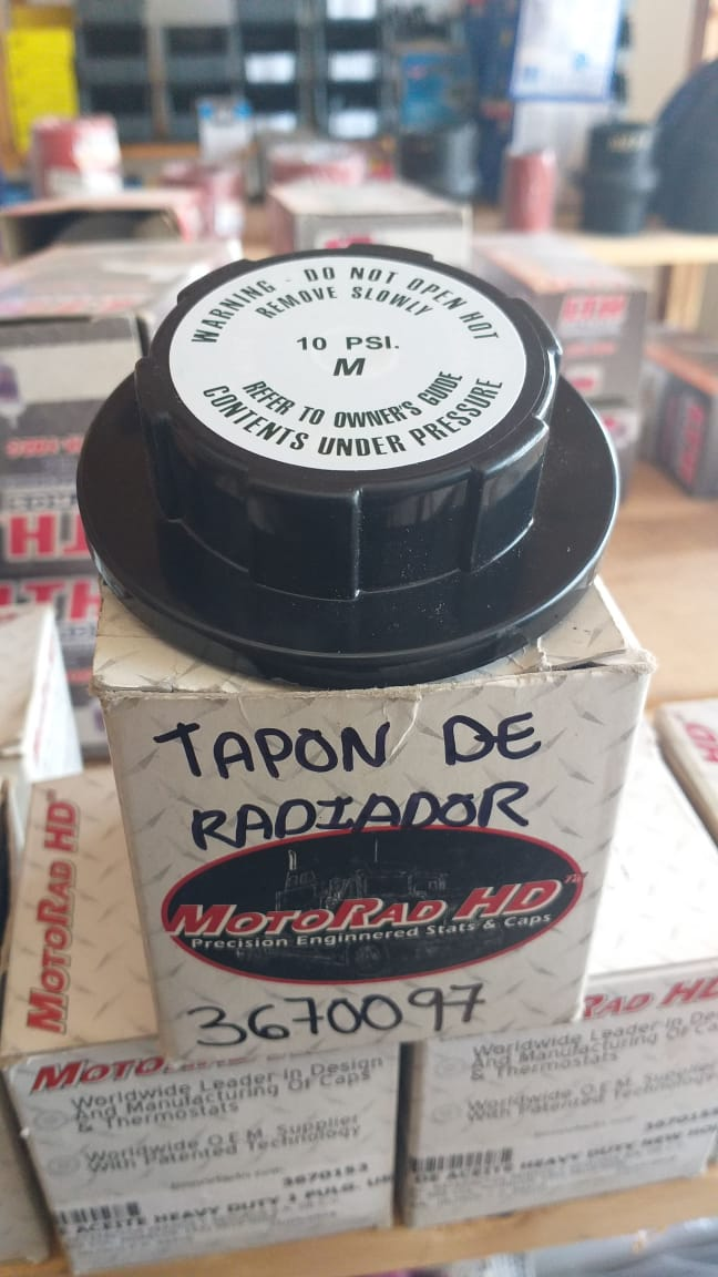 1551473102 TAPON DE RADIADOR 10 LBS HEAVY    DUTY 3670097